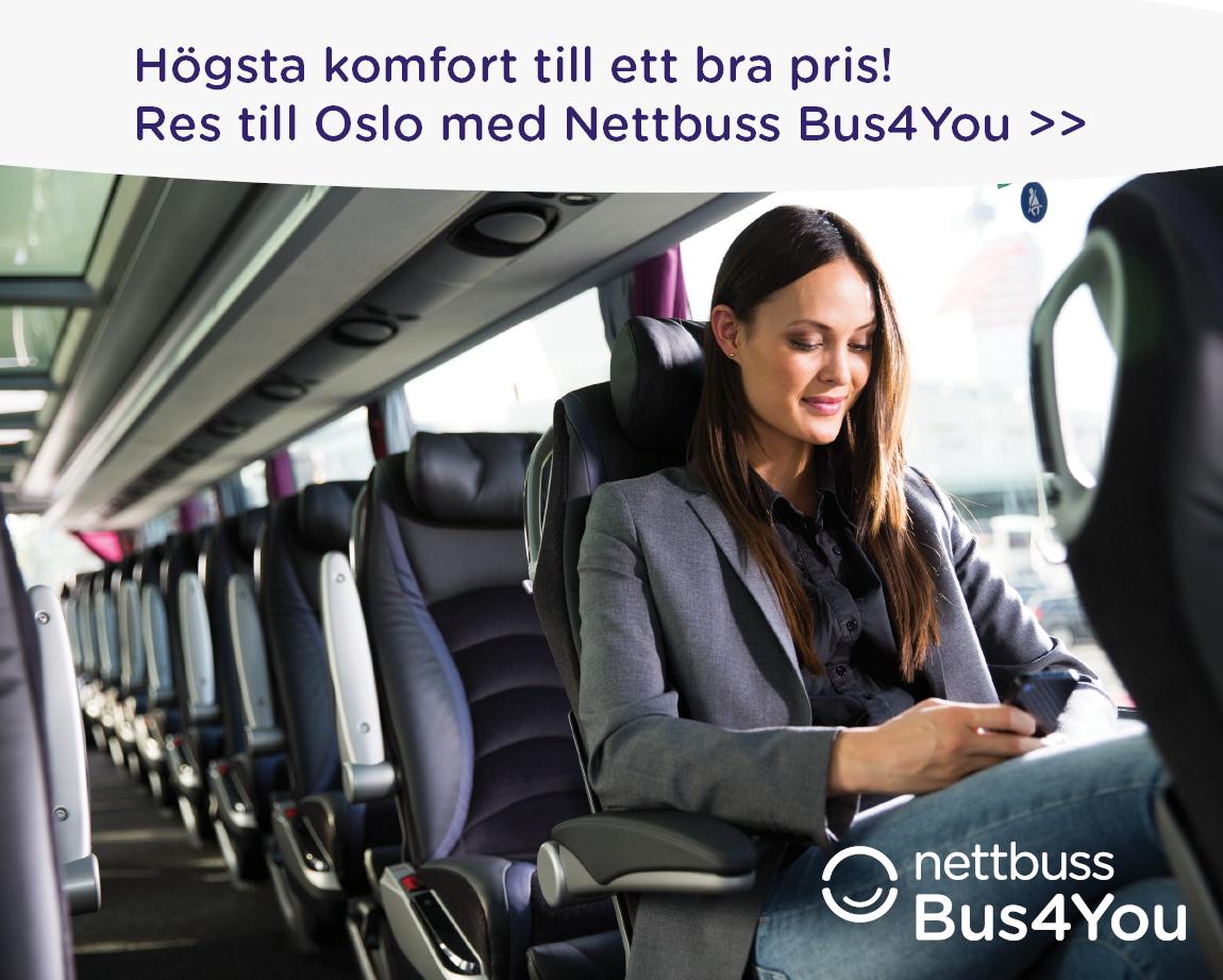 buss till Norge