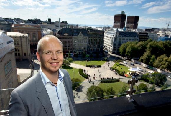Dagens industri: Thomas Wigen Sjöbacken, Marknadschef, talar om jobben i Norge