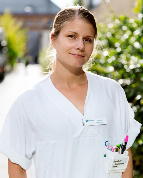 Sjuksköterska Josefine